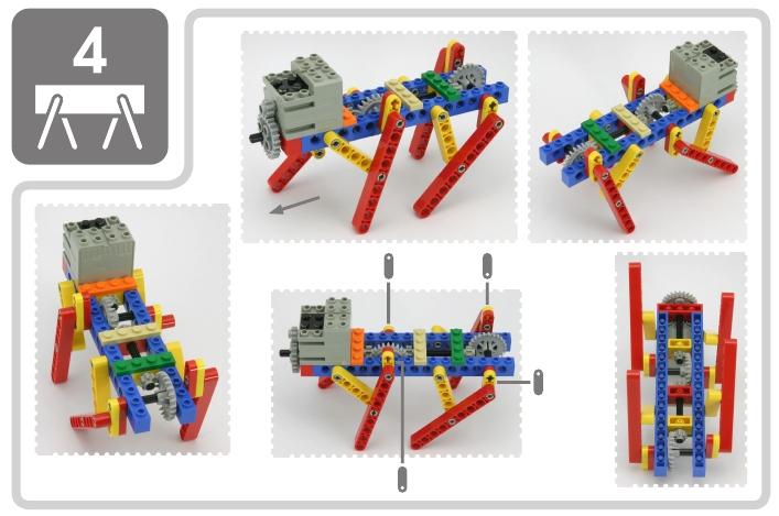 LEGO Technic Tora no Maki стр.